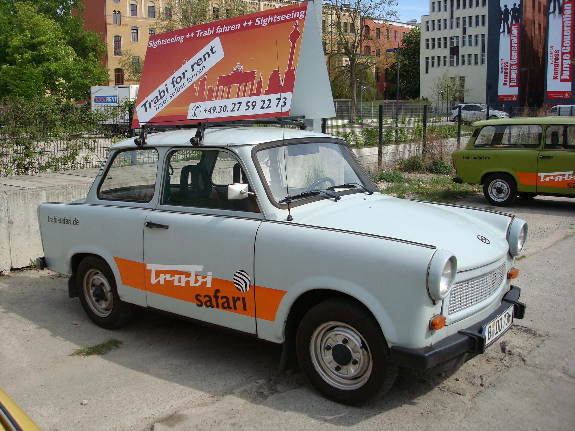 Trabi-Safari, ontdek Berlijn met een Trabant